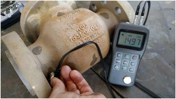 A nossa empresa faz Ensaios não Destrutivos por Ultrassom por Medição de Espessura, utilizados para a detectar espessuras exatas de tubos, chapas etc.