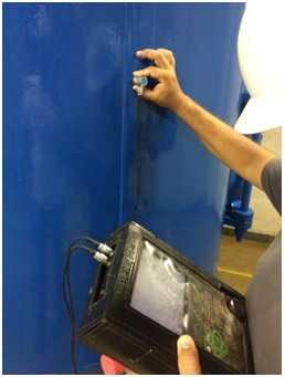 A THW Engenharia oferece equipe técnica especializada em Ensaios não Destrutivos por Ultrassom, técnica de Pulso-Eco que avalia a espessura residual dos equipamentos.
